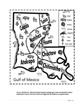 Louisiana Indians: Culture and Artifacts by Students First
