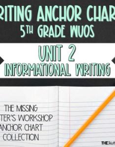 Lucy calkins writing workshop anchor charts th grade wuos unit information also ela teaching resources teachers pay rh teacherspayteachers