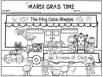 MARDI GRAS TIME Language Development Lessons for Young