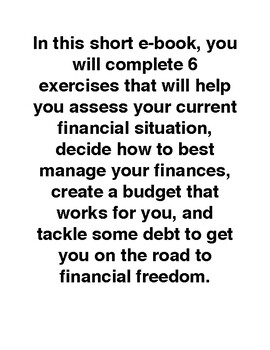 MONEY MATTERS...A Step By Step Guide To Budgeting by Labor