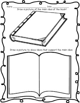 Main Idea: Reading Elements for Kindergarten Students
