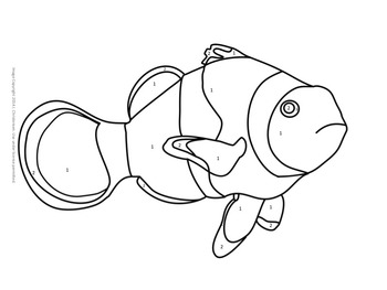 Make Your Own Color By Number Animals (Editable Template