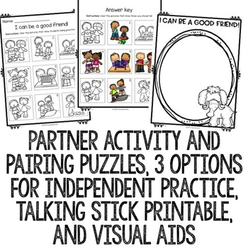 Making Friends Classroom Guidance Lesson for Early