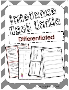 Making Inferences Task Cards- Differentiated by Time