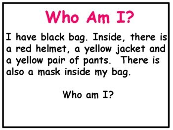 Making Inferences Power Point: Who Am I? by Meaningful