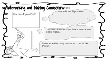 Making Inferences and Connections: Don't Let The Pigeon