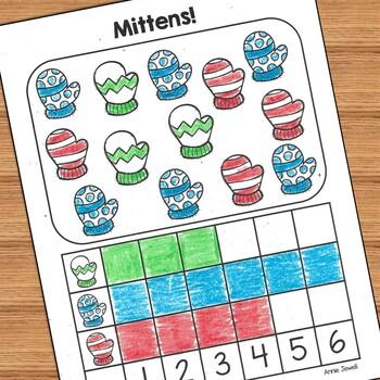 January and Winter Kindergarten Math Activities and