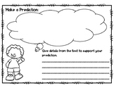 Making Predictions Graphic Organizer Teaching Resources