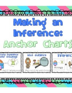 also making an inference anchor charts and worksheets by laura karsjens rh teacherspayteachers