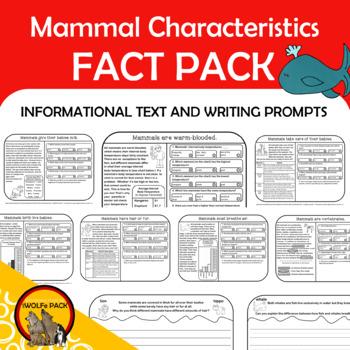 MAMMALS CHARACTERISTICS Fact Pack Informational Text