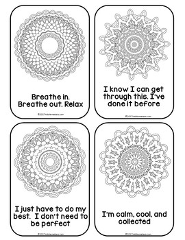 Mandala Mantras: Coping Skills For Test Anxiety by Kiddie
