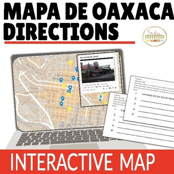 Reading Directions Interpretive Activity in Oaxaca with QR Codes!