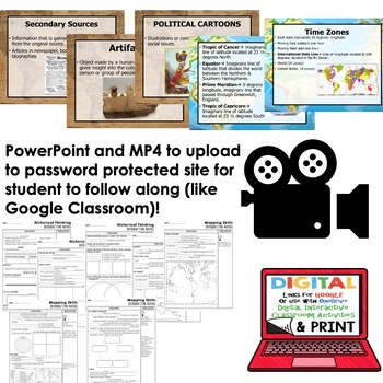 Mapping Skills & Historical Thinking Guided Notes