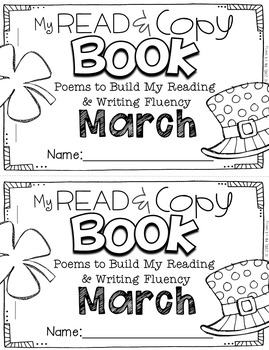 March Poems for Building Reading Fluency & Writing Stamina