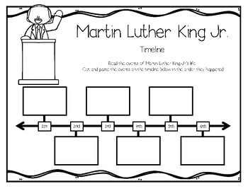 Martin Luther King Biography Study for Kids by The