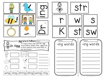 MLK PRIMARY Pack ~ w/ daily reading plans & activities