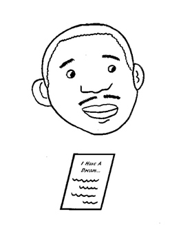Martin Luther King Jr. Paper Bag Puppet by Puppet Korner N