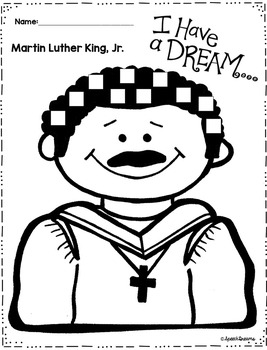 Martin Luther King Jr. Speech Therapy Crafts by Speech