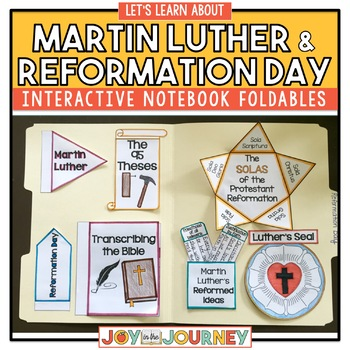 Martin Luther Reformation Day by Joy in the Journey by