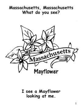 Massachusetts State Symbols Teacher and Student Books by