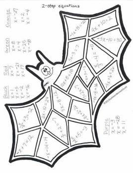 Middle School Math Art for Halloween and Thanksgiving by