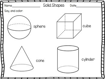 Math Bundle for Pre-K Worksheets Common Core States