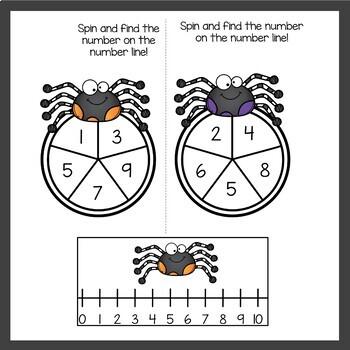 October Math Centers for Kindergarten by Teaching