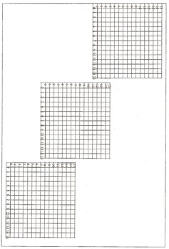 Math Coordinate Plane Graphing Pictures: Alphabet Letter