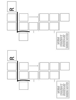 Math Division Problem Template (4 Different Sizes) by No