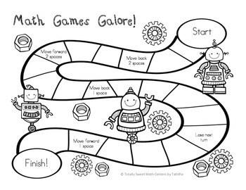 Math Games Galore Gr. 4 5 Board games, 5 4th grade math
