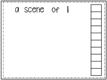 EXPRESS IT Math Journal {Expressing Scenes} by The