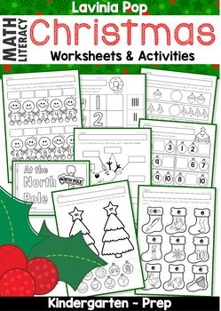 Christmas Math Amp Literacy Worksheets Amp Activities No Prep By Lavinia Pop