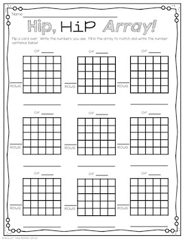 Math Masters: Repeated Addition & Arrays with a Monster