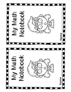 Math Notebook Cover Sheet FREEBIE by Undercover Classroom