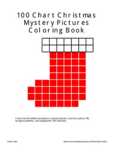Math one hundred chart christmas mystery pictures coloring also tpt rh teacherspayteachers