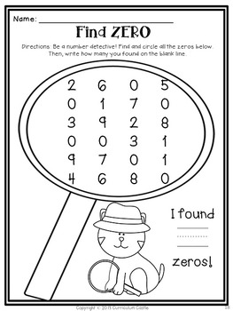 Get Ready for Math: NO PREP Kindergarten Printables! by