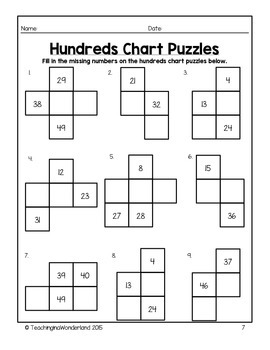{Grade 1} Math Skills Review Packet by