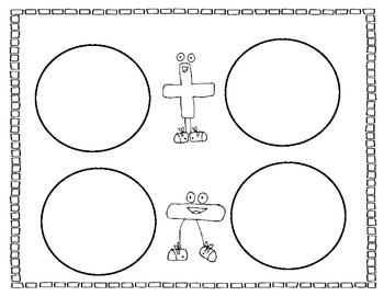 Math Snack Mats {Common Core aligned} *without standards