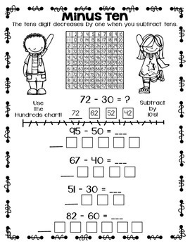 Math Strategy Practice Sheets ONLY by Super Smart in
