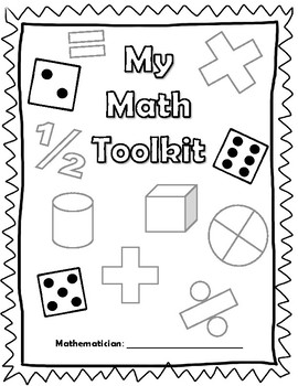 Math Toolkit Coverpage by Romines Resources  Teachers Pay Teachers