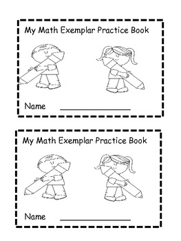 Math exemplar or story problem practice book. by Happy