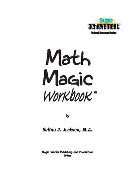 MathMagic Workbook-all content by Super Achievement