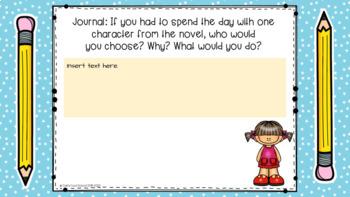 Matilda by Roald Dahl Novel Study Activities by Cait's