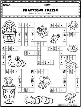 May in Fourth Grade (NO PREP Math and ELA Packet) by