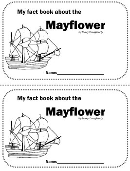 Mayflower Nonfiction Close Reading Book by Mary Daugherty