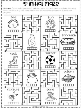 Mazes for Articulation: Later Developing Sounds by Speech
