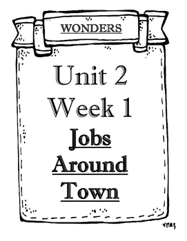 Wonders 2014/2017 edition Grade 1 Objectives Unit 2 Weeks