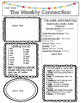 WONDERS EDITABLE 2nd grade Weekly Newsletter UNIT 1-6