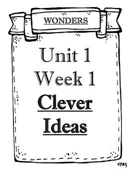 WONDERS Grade 4 Unit 1 Weeks 1 to 5 Objectives by Teacher