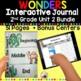 Wonders 2nd Grade Interactive Journal Unit 2 BUNDLE by
